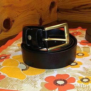 Men's Genuine leather belt size 50
